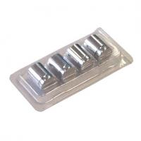 Premium Aluminium Standoff 13mm x 19mm  - Polished Chrome (7232309)