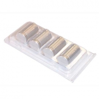 Aluminium Standoff 19mm x 50mm - Satin finish - (7232613)