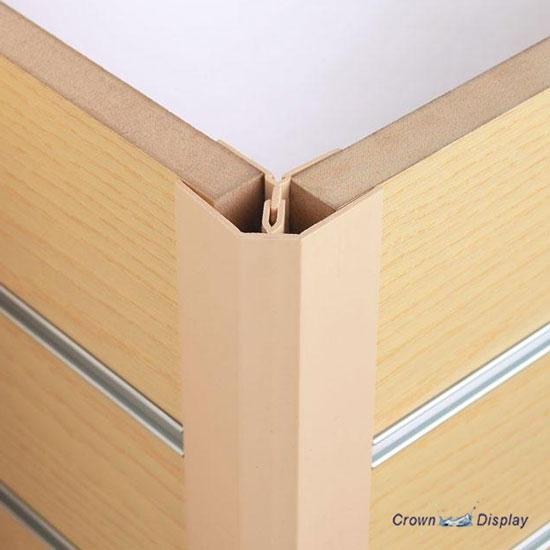 Slatwall External Corner Profile