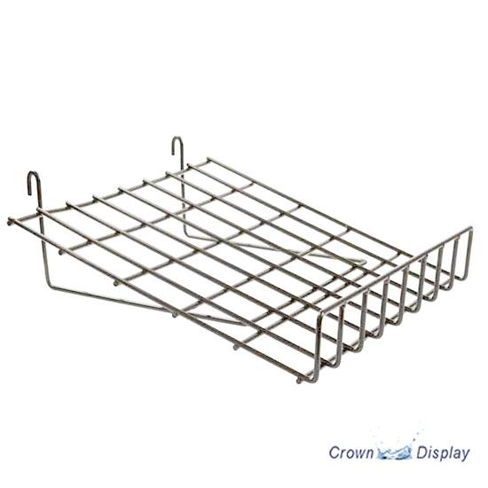Heavy Duty Chrome Shelf With Lip (x4)