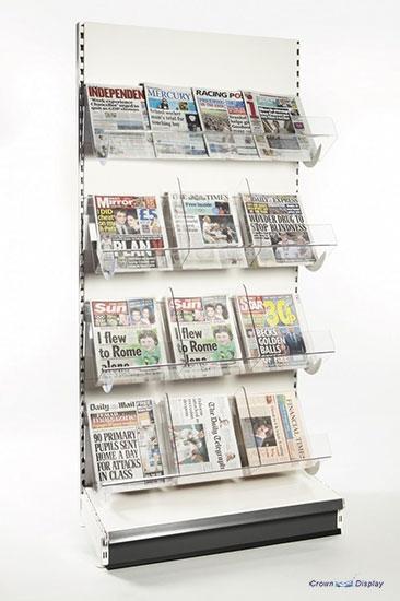 Premier Acrylic Newspaper Unit (1250mm wide)