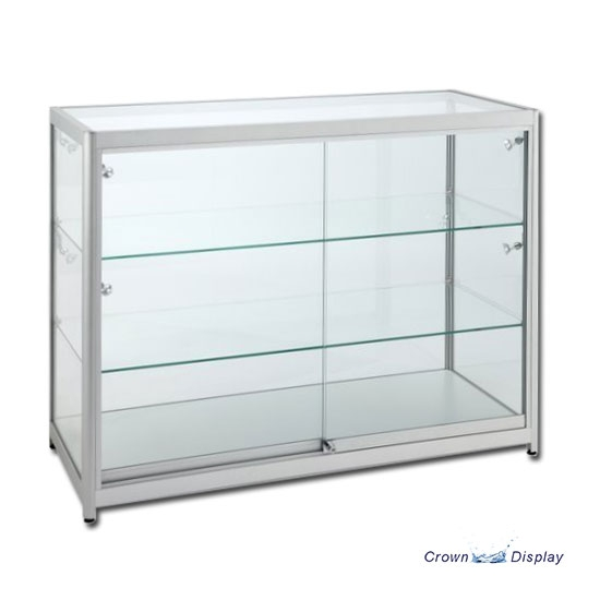 Aluminium Super Deluxe Showcase with lighting