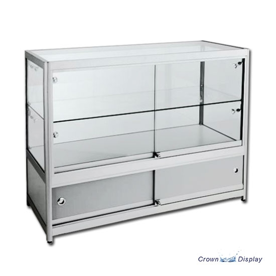 Aluminium Deluxe Showcase with lighting