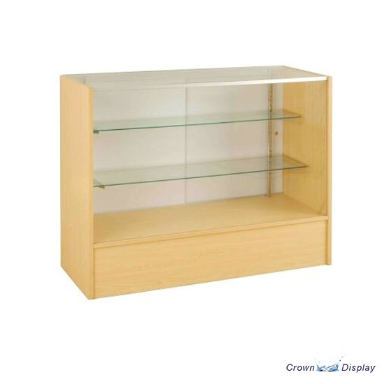 Glass Fronted Maple Showcase Counter
