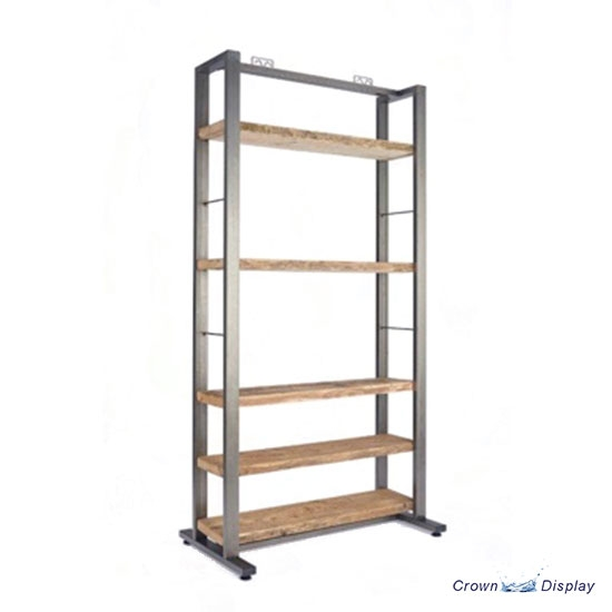 Rustic Shelving Unit Wide