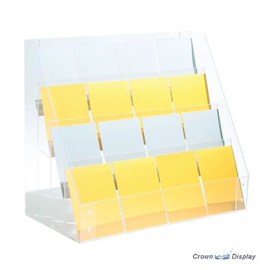 Acrylic Counter-top Card Display
