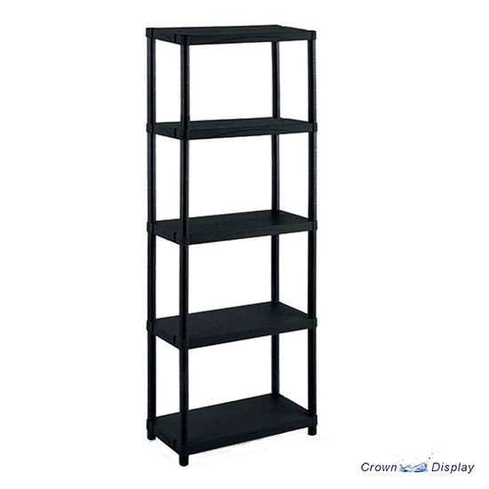 Black Plastic Shelving Unit (Small)