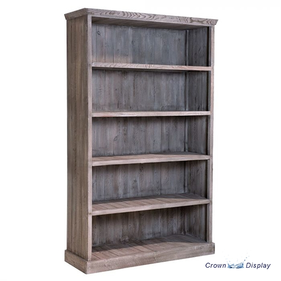 Rustic 5 Shelf Display Case