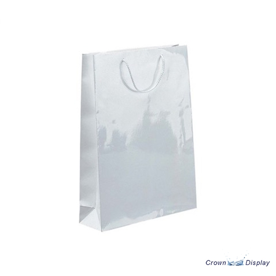 White Gloss Carrier Bag (pack of 25)