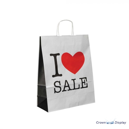Love Sale Paper Carrier Bag (pack of 50)