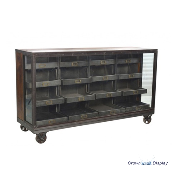 Industrial 16 Compartment Cabinet