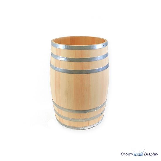 Wooden Display Barrel
