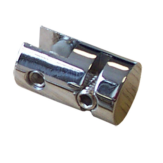 Chrome Vertical 8mm Panel Clip (7231010) 1.5mm wire