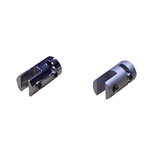 Chrome Vertical 3mm Mini Clip (7231509) 1.5mm wire
