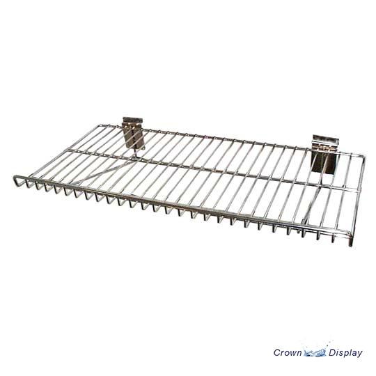 Flat Chrome Shelf with Lip 50% OFF (3113210)