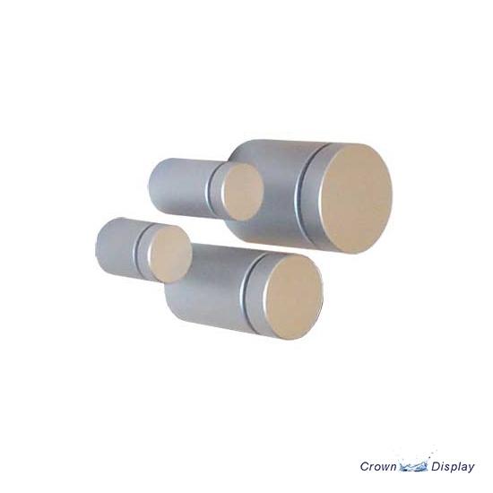 Aluminium Standoff 13mm x 19mm - Satin (7232313B)