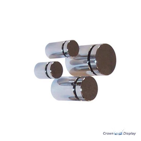 Aluminium Standoff 19mm x 25mm - Polished Chrome (7232509B)