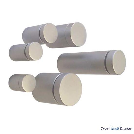Sign Standoff Premium - Satin finish - Aluminium Material (7232713B)