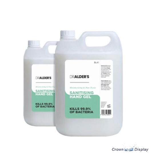 Hand Sanitiser 5L bottle (for Hand Sanitiser Station)