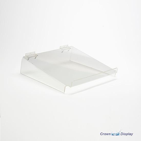 Strong Acrylic Shelf with Lip