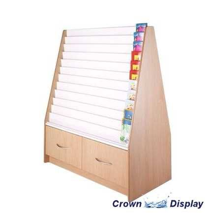 Greeting card stands display units card racks from crown display double sided spacesaver unit new m4hsunfo