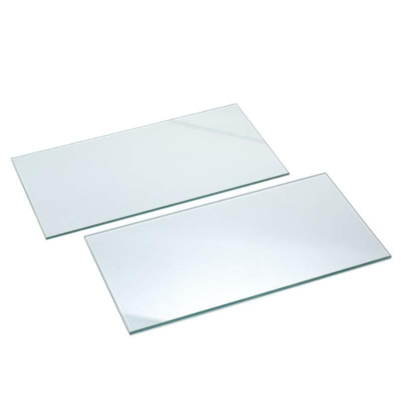Glass Shelves for Slatwall (Price shown is for pack)