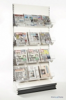 Premier Acrylic Newspaper Unit (1000mm wide)