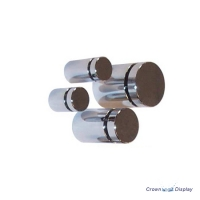 Aluminium Standoff 13mm x 13mm - Polished Chrome (7232209B)