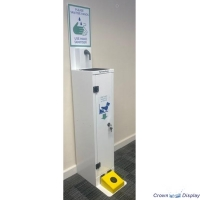 Freestanding Hand Sanitiser station