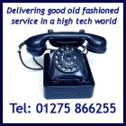 Telephone us: 01275 866255
