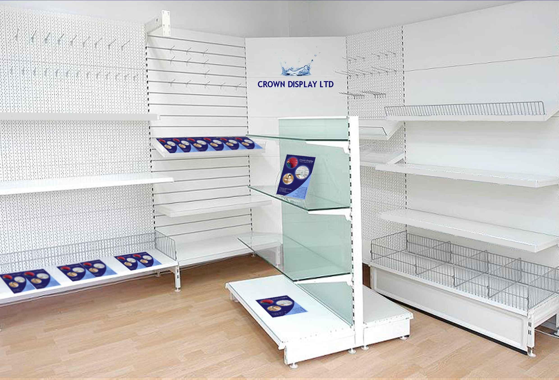 Modular Retail shelving - Same Day delivery - UK Price Guarantee